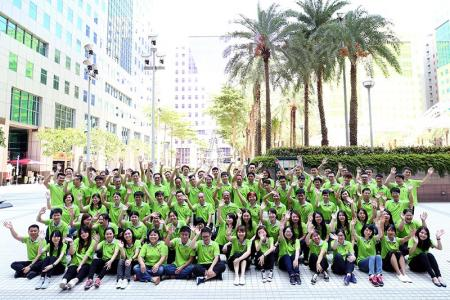Happy Pan Taiwan staff.