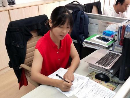 Staff in Ningbo Office