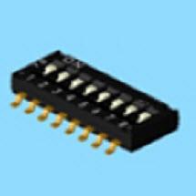 Dip-Schalter - Stiftlänge 6,7 mm - Dip-Schalter (DHN)