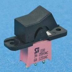 Versiegelte Wipp- und Paddelschalter - NE80-R Wippschalter