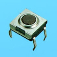 Washable Tact Swtiches (6.2x6.3) - ELTS*W-6 Tact Switches
