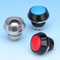 Interruttori a pulsante in metallo - Interruttori a pulsante