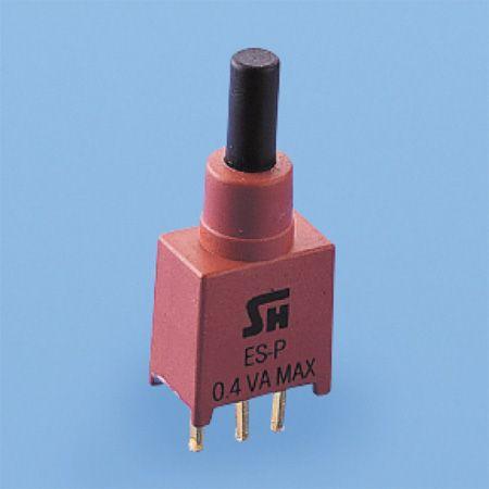 Abgedichteter Druckknopfschalter - SPDT - Drucktastenschalter (ES-22)