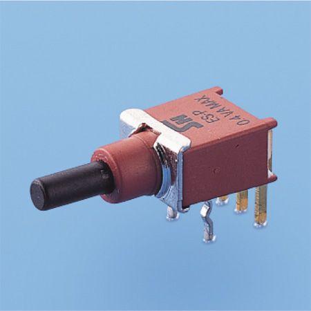 Abgedichteter Druckknopfschalter - SPDT - Drucktastenschalter (ES-22A)