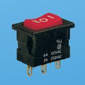 Mini-Wippschalter ON-OFF-ON - Wippschalter (JS-606C)