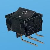 Wippschalter 4P EIN-AUS - Wippschalter (JS-606PA)