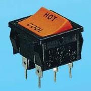 Wippschalter 6P ON-ON - Wippschalter (JS-606PB)