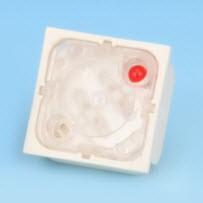 Interruttore a chiave - un LED