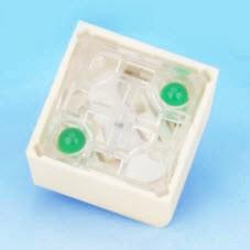 Schlüsselschalter - zwei LED