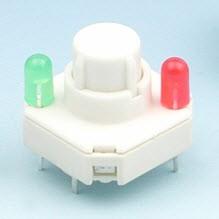 Interruttori a chiave con pad a pressione rotondo - Interruttori a chiave LT4