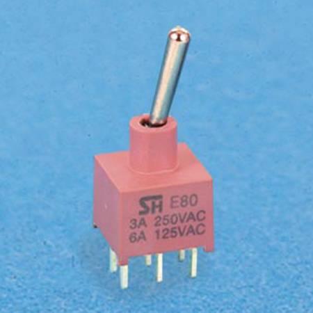 Interruttori a levetta miniaturizzati sigillati - Interruttori a levetta NE80-T