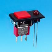 Drucktaster mit LED - Drucktastenschalter (P8701-F32A)
