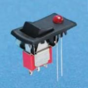 Miniatur-Wippschalter mit LED - Wippschalter (R8015-R32)