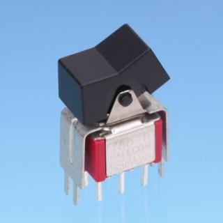 Miniatur-Wippschalter V-Halterung - Wippschalter (R8017-S20/S25)