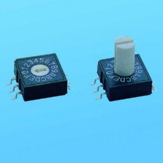 Drehschalter - 10x10 SMT - Dip-Schalter (RM)