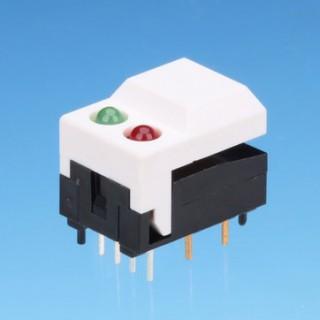 Druckknopfschalter - zwei LEDs - Drucktastenschalter (SP86-A1/A2/A3/B1/B2/B3)