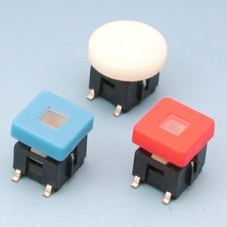 Interrupteur tactile lumineux - SMT - Interrupteurs tactiles (SPL6C)