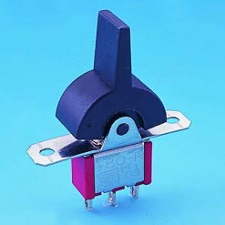 Miniatur-Wipp- und Paddle-Schalter - T80-R Wippschalter