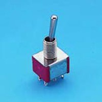 Miniature Toggle Switch - DP - Toggle Switches (T8011)