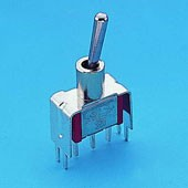 Miniature Toggle Switch V-bracket - Toggle Switches (T8013-S20/S25)