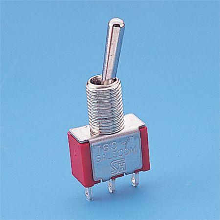 Interruptor de palanca en miniatura - SP - Interruptores de palanca (T8013)