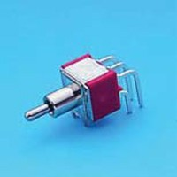 Miniature Toggle Switch - DP - Toggle Switches (T8021)