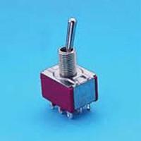 Miniature Toggle Switch - 3P - Toggle Switches (T8301)