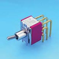 Miniature Toggle Switch - 3P - Toggle Switches (T8301P(A))