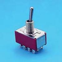 Miniature Toggle Switch - 4P - Toggle Switches (T8401)