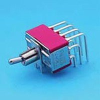 Miniature Toggle Switch - 4P - Toggle Switches (T8401P)