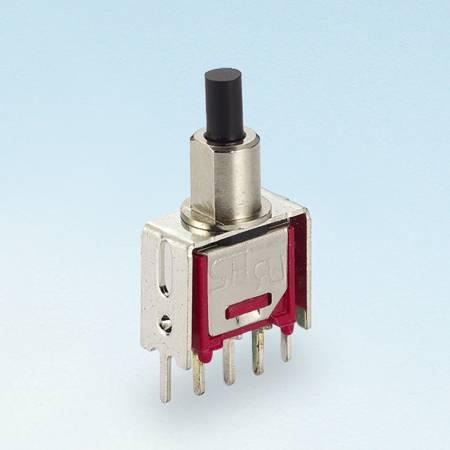Trave o interruptor do botão de pressão com suporte em V - Interruptores tipo botão de pressão (TL-22-A5)