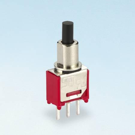 Chave de bloqueio de pressão - PC - Interruptores tipo botão de pressão (TL-22)