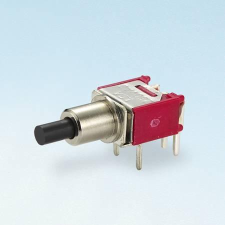 Chave de bloqueio de botão - SPDT - Interruptores tipo botão de pressão (TL-22A)