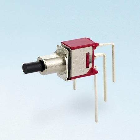 Chave de bloqueio de botão - SPDT - Interruptores tipo botão de pressão (TL-22B)