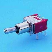 Interruttore a levetta subminiaturizzato - SP - Interruttori a levetta (TS-6)