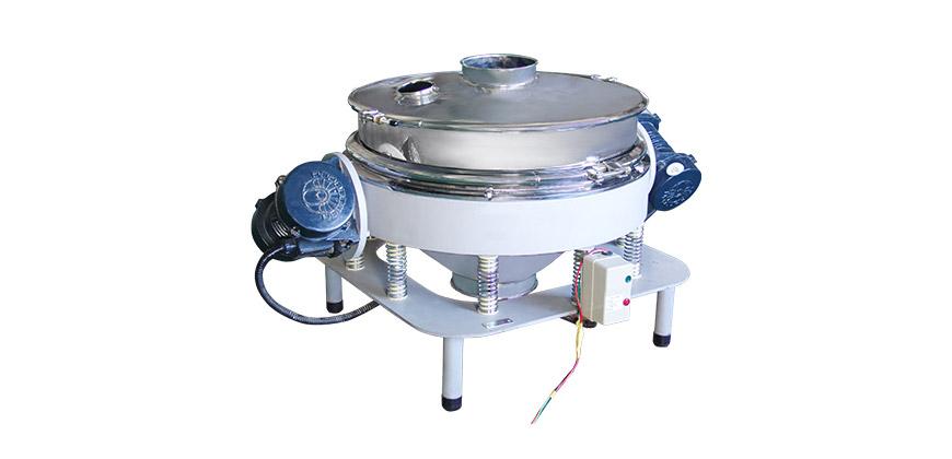Vertical Discharge Vibratory Separator