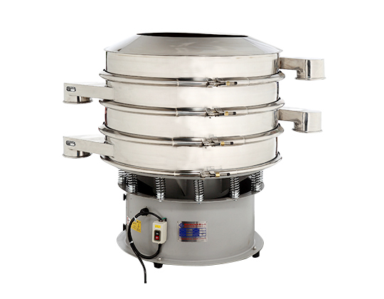 加缘式三次元震动筛粉/ 浆液过滤机