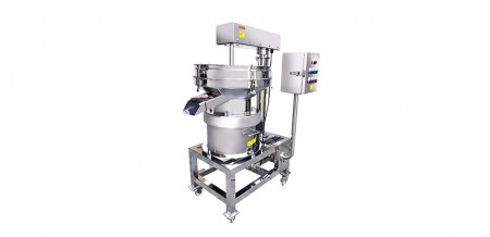 Vibratory Separator for Avoiding Material Get Together
