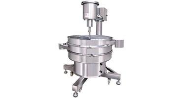 Séparateur de vibrations pour éviter les rassemblements de matériaux