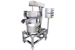 Scraper separator sweets macaroon industry
