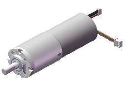 Motoréducteur DC sans balais avec réducteur Φ38mm
