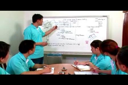Abbiamo molti corsi di formazione per promuovere la conoscenza tecnica e il know-how.