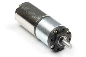Bezrdzeniowy silnik szczotkowy prądu stałego z przekładnią