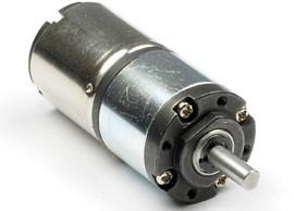 piccolo motore DC con riduttore epicicloidale