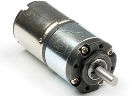 small DC motor with planetary gearhead