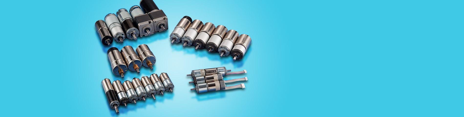 Projektuj i produkuj   miniaturowe i   małe silniki z przekładnią DC
