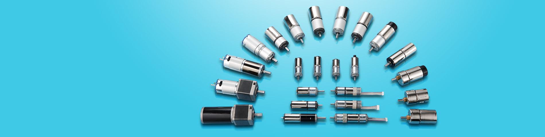Προμήθεια Μικρών   DC Geared Motors   για μεγάλη ποικιλία εφαρμογών