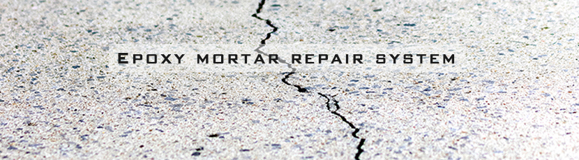 Epoxy resin can for repair system
