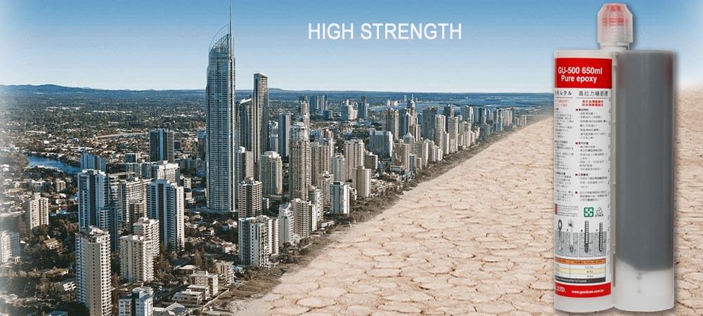 650毫升高溫環境適用環氧植筋膠