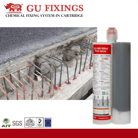 2dílné epoxidové lepidlo pro stavební opravy